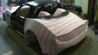 getlinkyoutube.com-Bailey Blade Car Design | Sculpting Foam Core - Part 10
