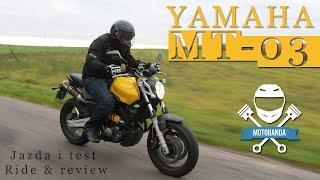getlinkyoutube.com-Yamaha MT-03 Test Miejskiego Nakeda na A2 - Opinia Motobanda