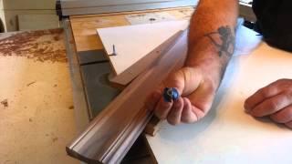 "getlinkyoutube.com-Woodworking - homemade ""crown molding"""
