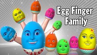 getlinkyoutube.com-Finger Family Nursery Rhymes   Egg Finger Family song   3D Finger Family Rhymes & Kids songs