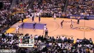 getlinkyoutube.com-2004 NBA Finals - Detroit vs Los Angeles - Game 1 Best Plays