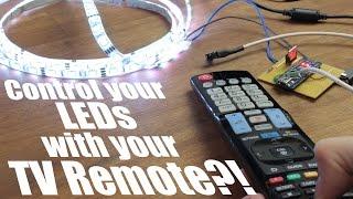 getlinkyoutube.com-Control your LEDs with your TV remote?! || Arduino IR Tutorial
