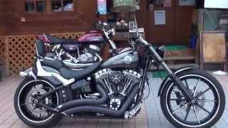 getlinkyoutube.com-VANCE&HINESサウンドを聞け 2015 FXSBブレイクアウト Harley-Davidson FXSB BREAKOUT FXSBSE CVO ハーレーダビッドソンソフテイルブレイクアウト