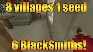 getlinkyoutube.com-Minecraft Xbox 360 + PS3 TU20 Best Seed - 8 Villages, 6 Blacksmiths, 1 Temple, 2 Surface Spawners