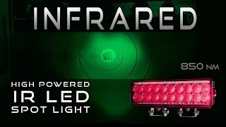 getlinkyoutube.com-Infrared LED Spot Light High Powered IR