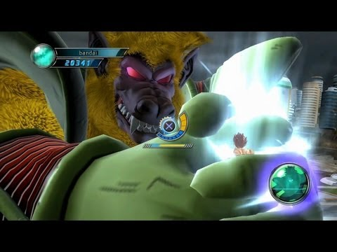 Dragon Ball Z Ultimate Tenkaichi - PS3 / X360 - Hero Mode: Part 3 - Boss Battle Intro