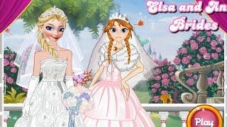 getlinkyoutube.com-NEW Игры для детей—Disney Венчание Эльза Холодное сердце—Мультик Онлайн Видео игры для девочек
