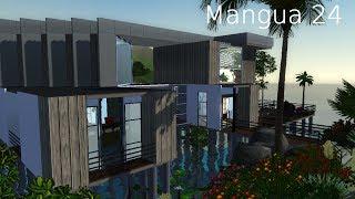getlinkyoutube.com-The sims 3 house building│Mangua 24 [HD]