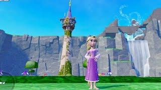 getlinkyoutube.com-라푼젤의 모험(1) 비밀의 숲 * 디즈니 게임 애니 * 카일TV * Disney infinity 3.0 princess Rapunzel