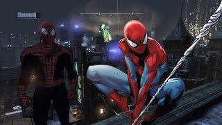 getlinkyoutube.com-Batman Arkham City Spider-Man Mod