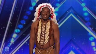 America's Got Talent 2016 Christopher One Little Indian Or Is It Full Audition Clip S11E05