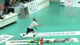 getlinkyoutube.com-Volley Monza - Pallavolo Modena  24 JAN 15