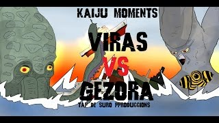 getlinkyoutube.com-VIRAS VS GEZORA KAIJU MOMENTS # 25
