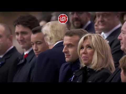 В Париже Трамп не поздоровался за руку с Порошенко.