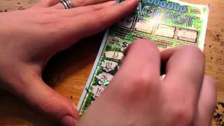getlinkyoutube.com-$1,000,000 Jackpot Winning Lottery Ticket! Live Play Scratch Off! Free lotto ticket Giveaway Soon!