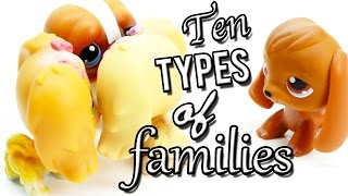 LPS - 10 Types of Families