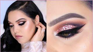 Glitter Cut Crease | PROM MAKEUP TUTORIAL!