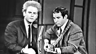 getlinkyoutube.com-Simon & Garfunkel - 'Let's Sing Out' - Canadian TV, Live, 1966