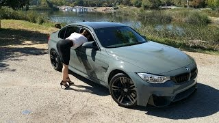 getlinkyoutube.com-BMW M3 in Grigio Medio / M Accessories / Exhaust Sound / BMW Review