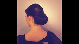 getlinkyoutube.com-How to do a classic chignon hairstyle
