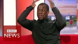 Kevin Hart takes over BBC Breakfast - BBC News width=