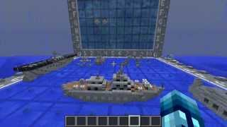 getlinkyoutube.com-IF BATTLESHIP WAS IN MINECRAFT! - Battleship 1.8 Minecraft Minigame
