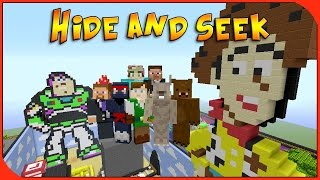 Minecraft Xbox - Hide and Seek - Toy Story