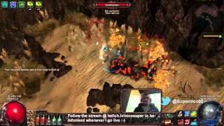 getlinkyoutube.com-Path of exile - Poison arrow/fire trap EB MoM Ranger build