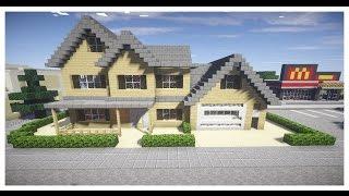 getlinkyoutube.com-Minecraft : สร้างบ้านสวยๆตามจินตนาการ 1.8(2) - Rivth28