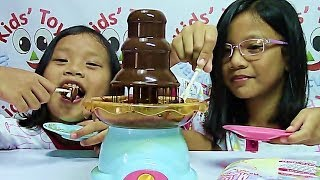 getlinkyoutube.com-Play Go Chocolate Fountain Makes Fun and Delicious Desserts - Kids' Toys