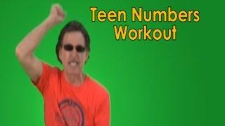 getlinkyoutube.com-Teen Numbers | Numbers in the Teens | Teen Numbers Workout | Jack Hartmann