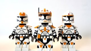 getlinkyoutube.com-Custom LEGO - Star Wars Clone Commander Cody, Boil & Waxer