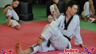 Taekwondo Stretching with the World Junior Champion Aaron Cook