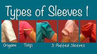 getlinkyoutube.com-Types of Sleeves 1 ~Puff sleeve, Petal sleeve, Origami sleeve