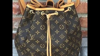 getlinkyoutube.com-Louis Vuitton Petite Noe