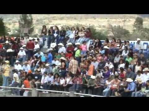 Ojo de Agua 2007 - Jaripeo parte 1- Zamora Michoacan Mexico