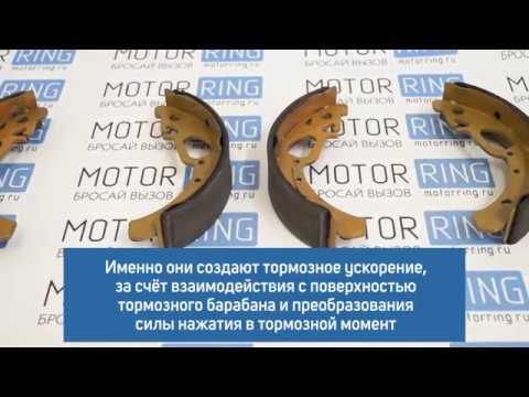 Тормозные колодки задние FERODO FSB240 для переднеприводных автомобилей ВАЗ без АБС   MotoRRing.ru