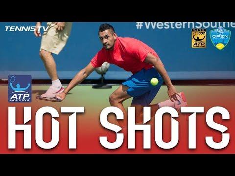 Hot Shot: Kyrgios Strikes Flick Winner At Cincinnati 2017