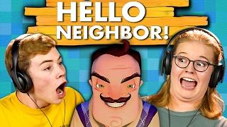 getlinkyoutube.com-HELLO NEIGHBOR (Teens React: Gaming)