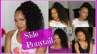 getlinkyoutube.com-GRWM| DATE NIGHT| SIDE PONYTAIL DEMO