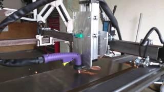 First Cuts: Homemade CNC plasma