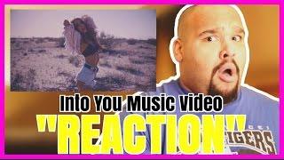 getlinkyoutube.com-ARIANA GRANDE - INTO YOU MUSIC VIDEO [REACTION]