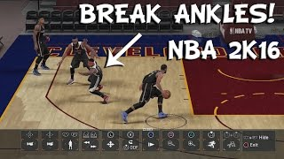 NBA 2K16 Tip: Best Crossover Move (BREAK ANKLES)