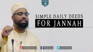 getlinkyoutube.com-Simple Daily Deeds for Jannah - Abu Aliyah AbdAllah