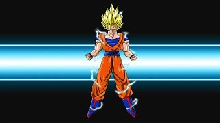 Dragon Ball: Final Bout   Super Saiyan Goku - Meteor Combo (X8)