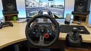getlinkyoutube.com-Project Cars cu Volan Logitech G29 cu Pedale si Schimbator