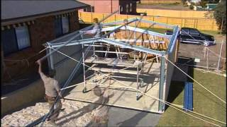 getlinkyoutube.com-Fair Dinkum Sheds Construction Video