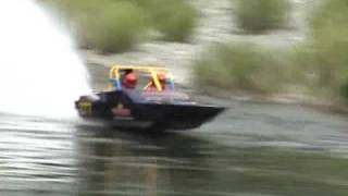 Ever seen a race boat drift?