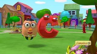 getlinkyoutube.com-Learn Alphabets | Alphabet adventure with Humpty the flying egg | learn ABC | Kiddies tv