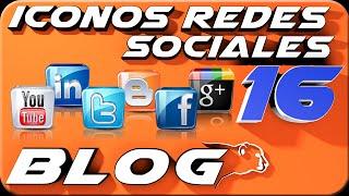 getlinkyoutube.com-Como COLOCAR iconos de las redes sociales BLOGGER